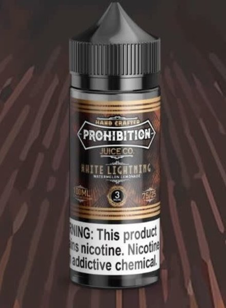 Prohibition Juice Co. Prohibition Juice Co. White Lightning 100ml