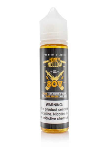 80V eLiquid Honey Mellow 60ml