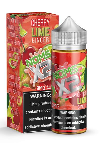 Noms X2 Noms X2 Cherry Lime Ginger 120ml