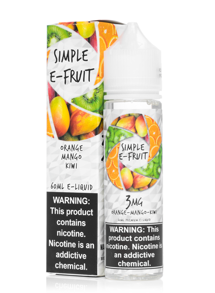 Simple E-Fruit Simple E-Fruit (OMK) Orange Mango Kiwi 60ml