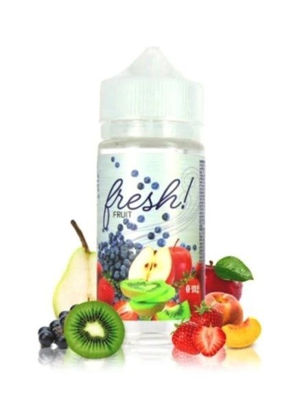 Branded Vapors Branded Vapors Fresh! Fruit 100ml