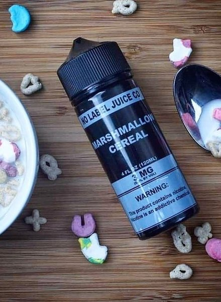 No Label Juice Co. No Label Juice Co. Marshmallow Cereal 120ml