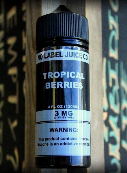 No Label Juice Co. No Label Juice Co. Tropical Berries 120ml