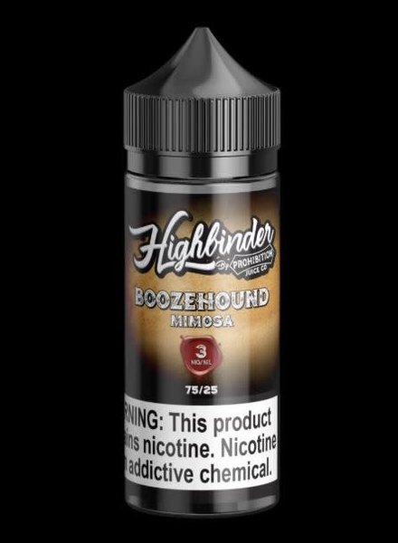 Prohibition Juice Co. Prohibition Juice Co. Boozehound 100ml