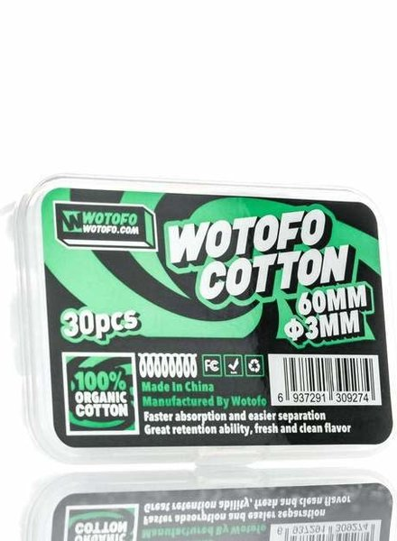 Wotofo Wotofo XFiber Cotton Agleted 30pk