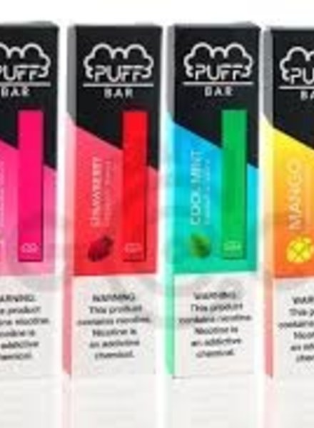 Puff Bar Puff Bar Disposable Assorted Flavors
