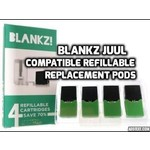 Blankz! Blankz JUUL Refillable Cartridges (Box of 4)
