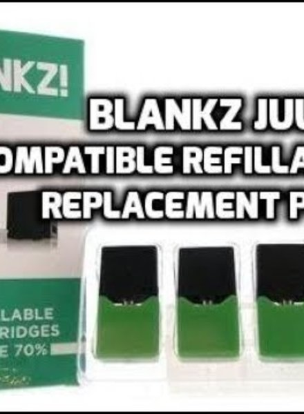 Blankz! Blankz JUUL Refillable Cartridges (Box of 4)
