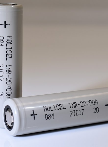 Molicel INR 20700 35A 3000mAh Battery (Each Battery)