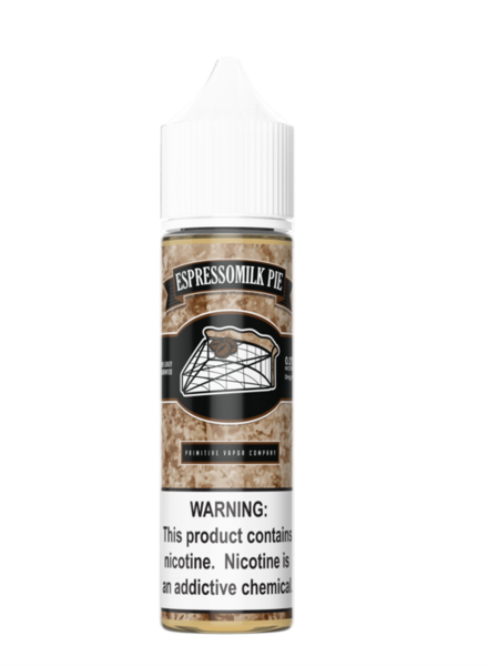 Primitive Vapor Co. Primitive Vapor Co. Espressomilk Pie 60ml