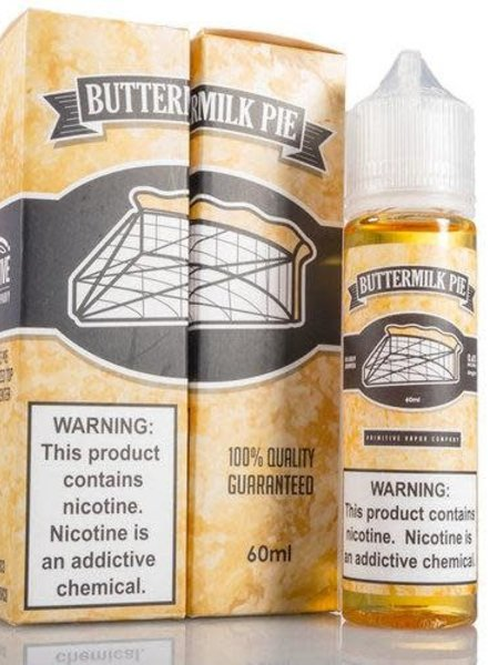 Primitive Vapor Co. Primitive Vapor Co. Buttermilk Pie 60ml