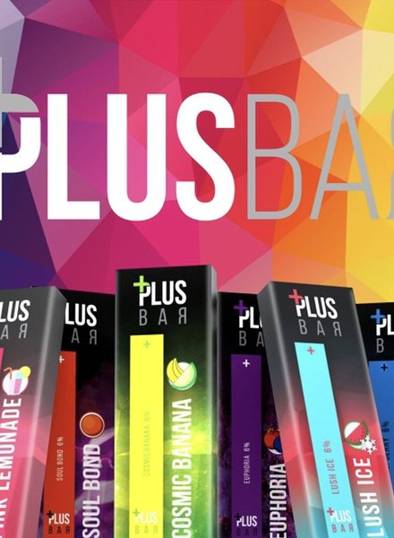 Plus Bar Plus Bar Disposable Device 6%