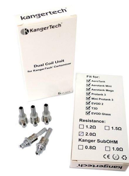 KangerTech Kanger Dual 1.2 (Kanthal) (Box of 5)