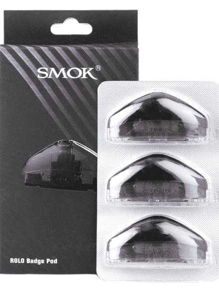 Smok Smok Rolo Badge Pod (Box of 3)