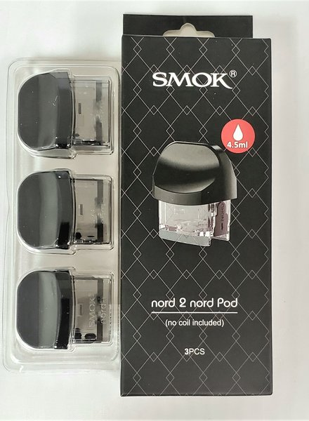 Smok Nord 2 Empty Nord Pod (Box of 3)