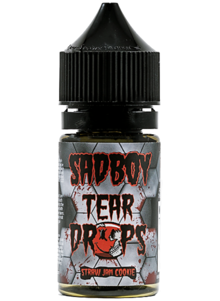 Sadboy Sadboy Tear Drops Salt Strawberry Cookie 30ml 28mg