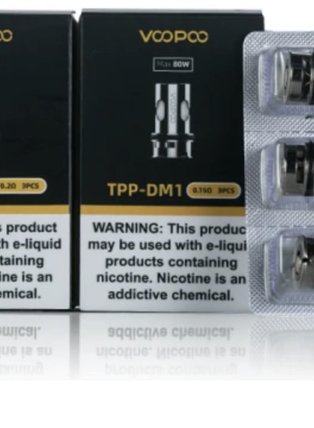Voopoo Voopoo TPP Coils (Box of 3)