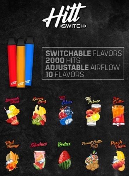 HITT GO Hitt Switch 2000 Puff Disposable