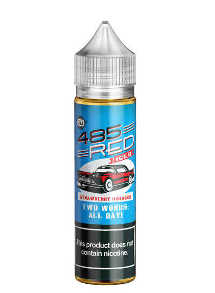 Boosted E-Juice 485 Red Strawberry Hibiscus Iced 60ml