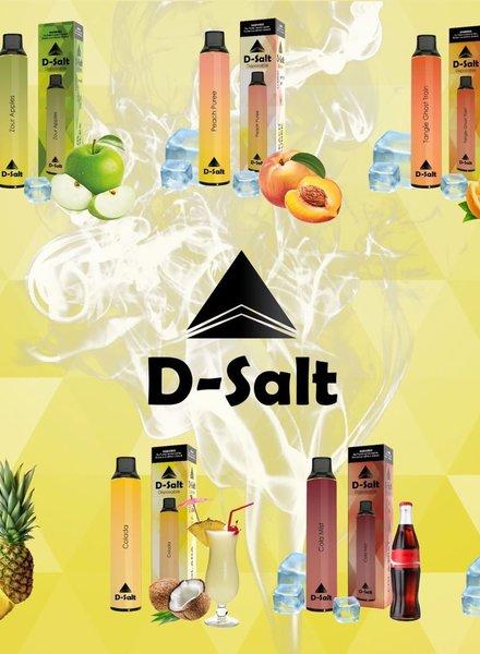 D-Salt D-Salt D8 Nicotine Disposable 100mg 1500 puffs/ 5% Disposable
