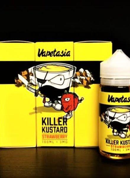 Vapetasia Killer Kustard Strawberry 100ml