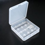 4 Bay 18650 Plastic Battery Case