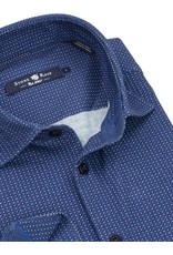 Geometric Texture Button Up