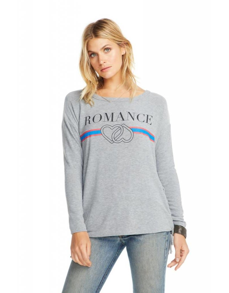 Romance Lace Up Pullover
