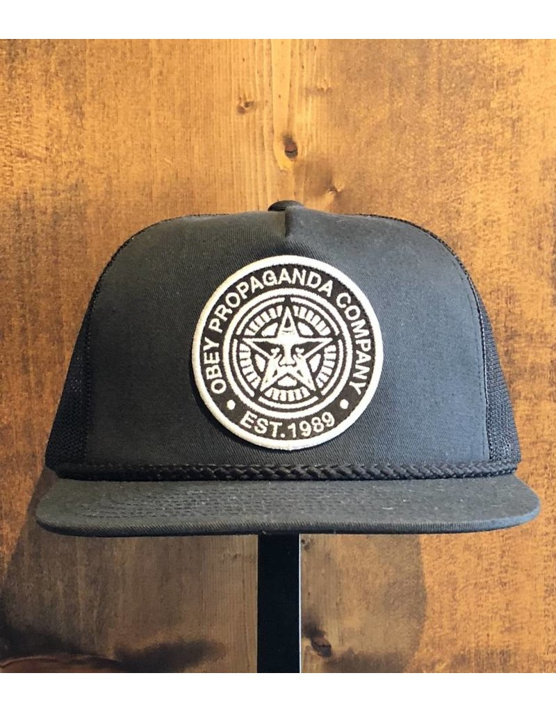 Giant Trucker Hat - Black (OS)