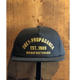 Established Snapback - Black (OS)