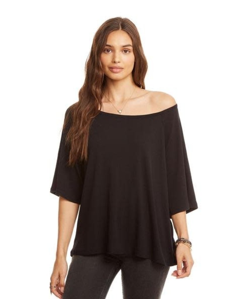 Off Shoulder Raglan Tee