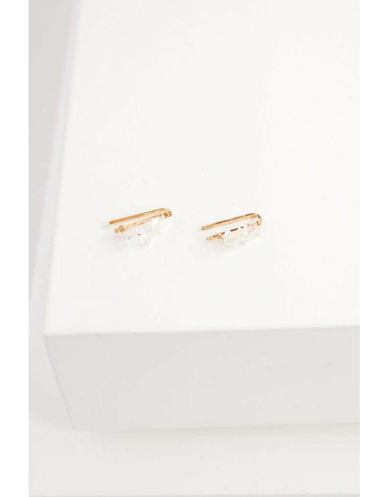 SERAPHINA Present Crawler w/ Herkimer Diamonds