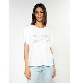Weekend Warrior Wide T Shirt
