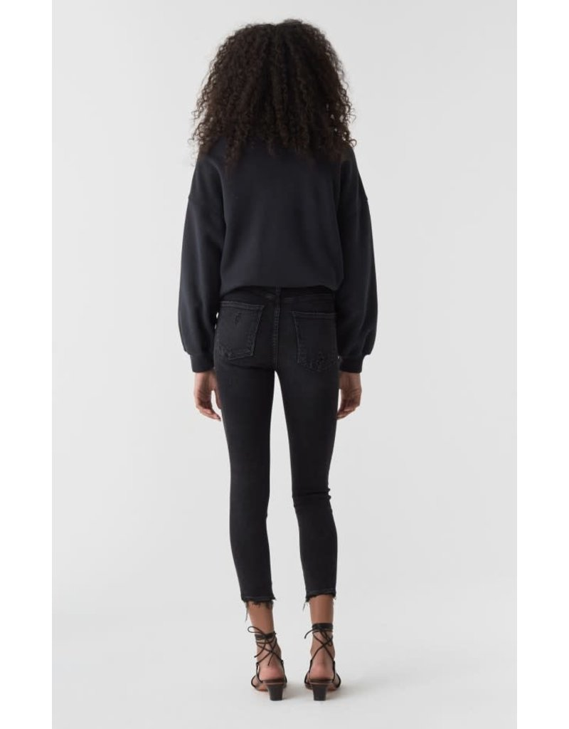 Sophie Hi-Rise Skinny Crop in Temple