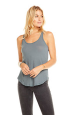 Basic Seamed Racer Back Tank