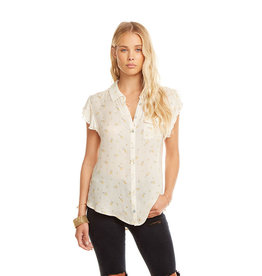 Flutter Sleeve Button Down