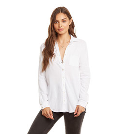 Gauzy Cotton Button Down