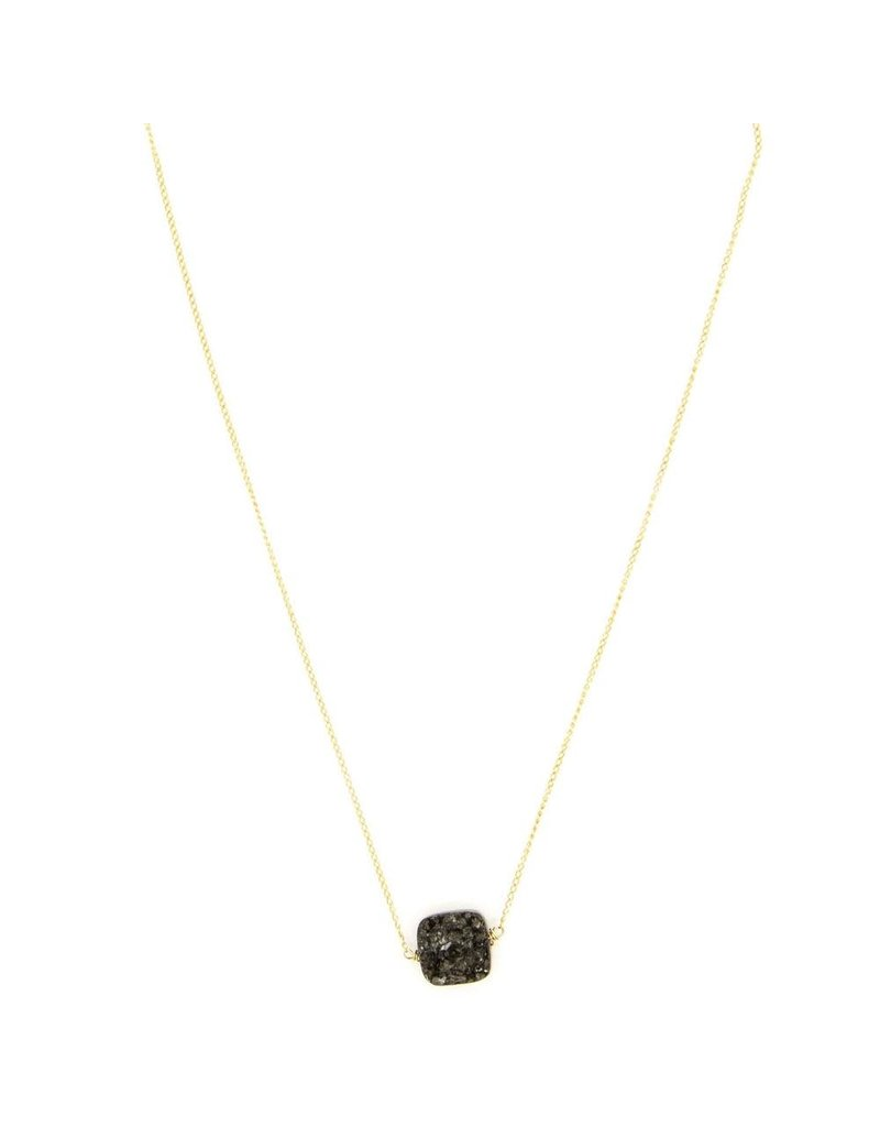 HAVEN Dawn Druzy Choker