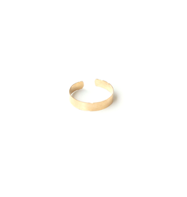 SKIN Alaine Hammered Cuff Ring
