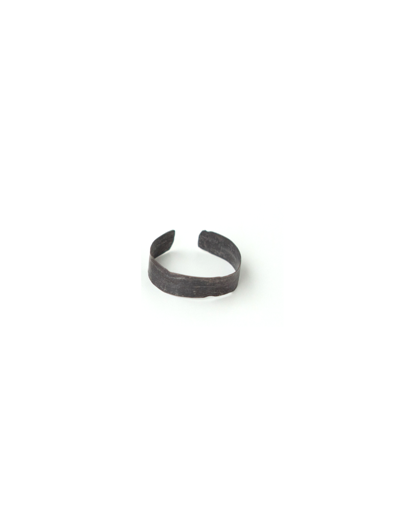 SKIN Alaine Hammered Cuff Ring