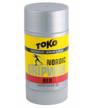 Toko NORDIC GRIP WAX RED |25g|