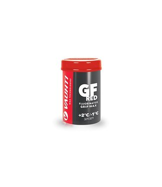 Vauhti GF RED FLUORINATED GRIP WAX +2 / -1 C  |45g|