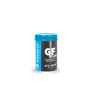 Vauhti GF BLUE FLUORINATED GRIP WAX -3 / -10C  |45g|