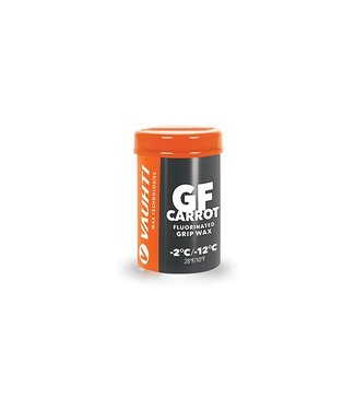 Vauhti GF CARROT FLUORINATED GRIP WAX -2 / -12C |45g|