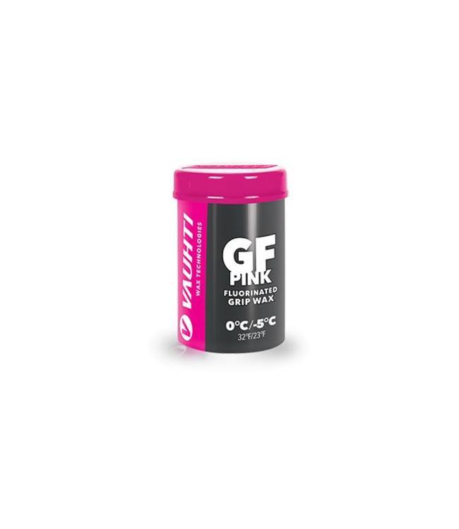 Vauhti GF PINK FLUORINATED GRIP WAX 0 / -5 C |45g|