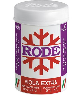 Rode VIOLA EXTRA kick/grip wax 0C°/-3C° |50g|