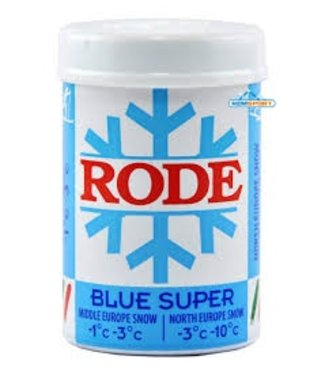 Rode BLUE SUPER: KICK/GRIP WAX -3C°|-10C°, 50g (2018)