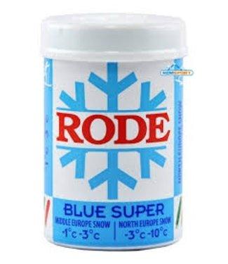 Rode BLUE SUPER: KICK/GRIP WAX -3C°|-10C°, 50g