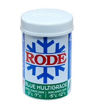 Rode BLUE MULTIGRADE: KICK/GRIP WAX -5C°|-12C°, 50g (2018)