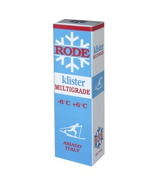 Rode Klister Multigrade -6C/+6C |60g|